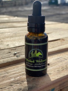 Alfalfa Carrot Pet CBD Oil - 30ml